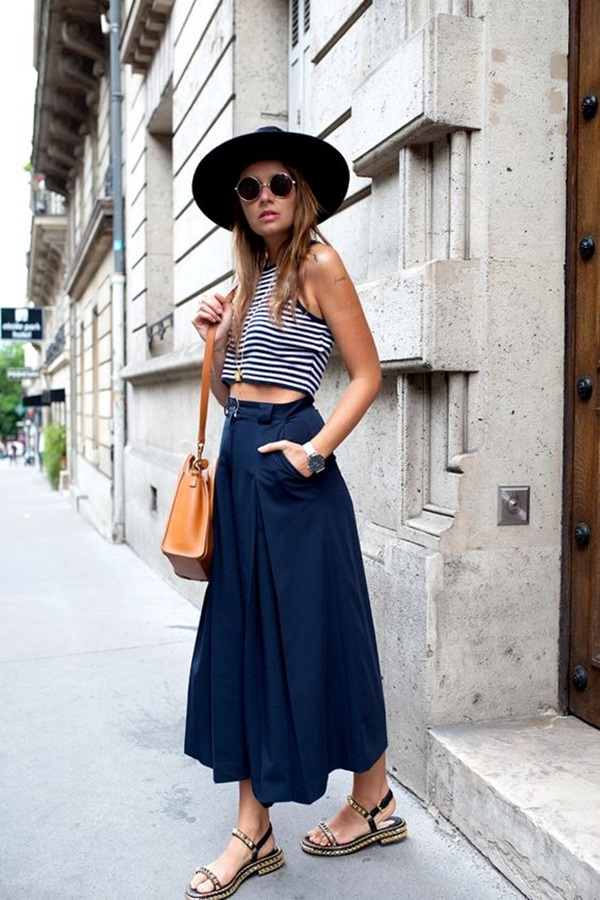 Casual Culottes Outfit (11)