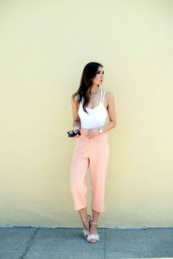 Casual Culottes Outfit (14)