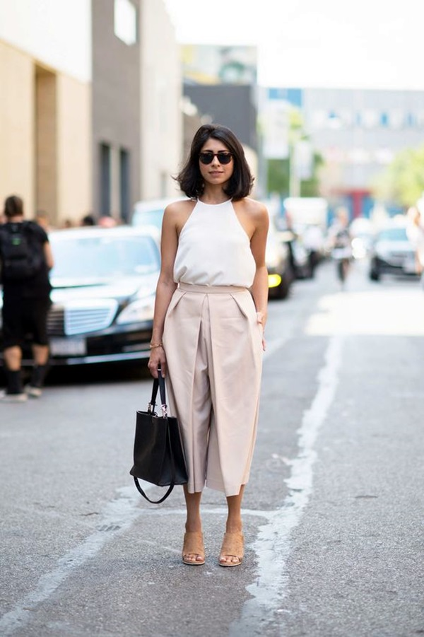Casual Culottes Outfit (15)
