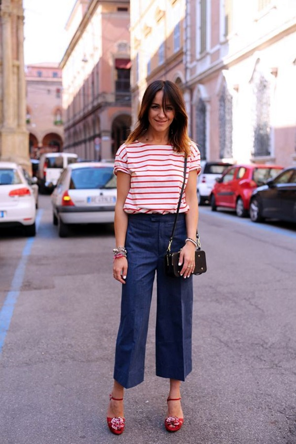 Casual Culottes Outfit (3)