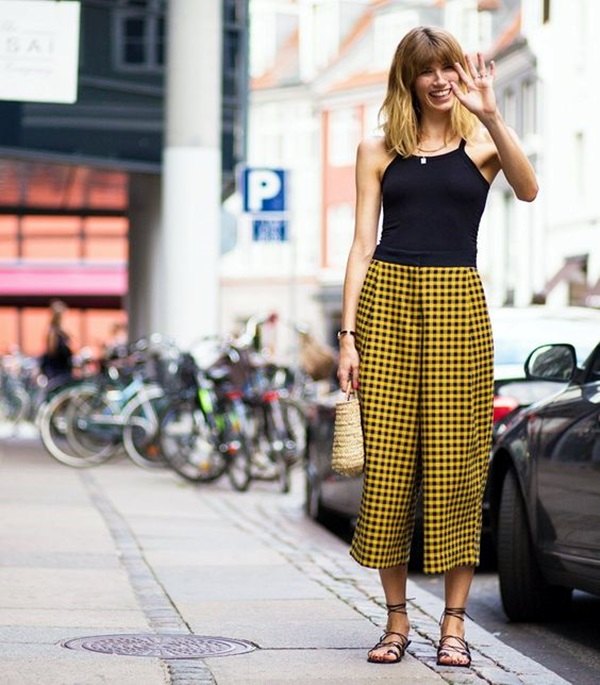 Casual Culottes Outfit (5)