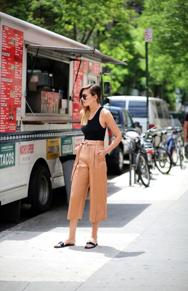 Casual Culottes Outfit (6)