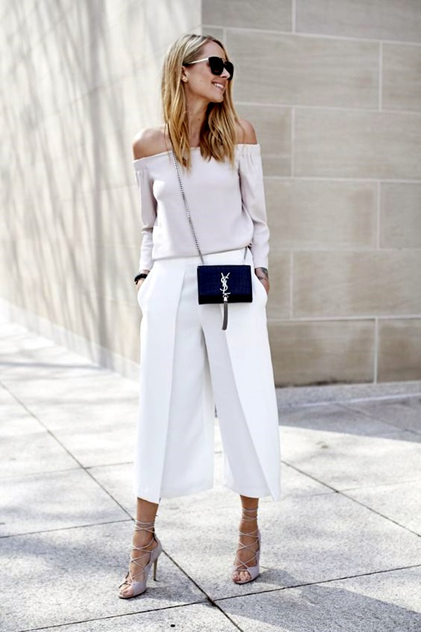 Casual Culottes Outfit (7)