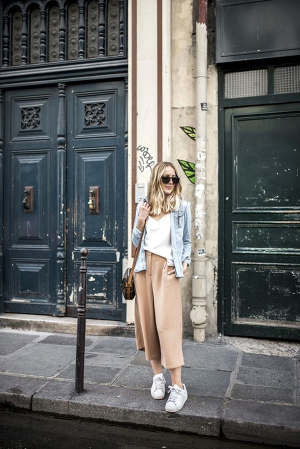 Casual Culottes Outfit (8)