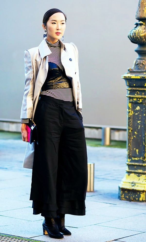 Casual Culottes Outfit (9)