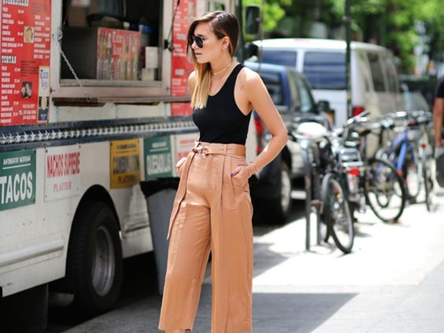 Casual Culottes Outfit