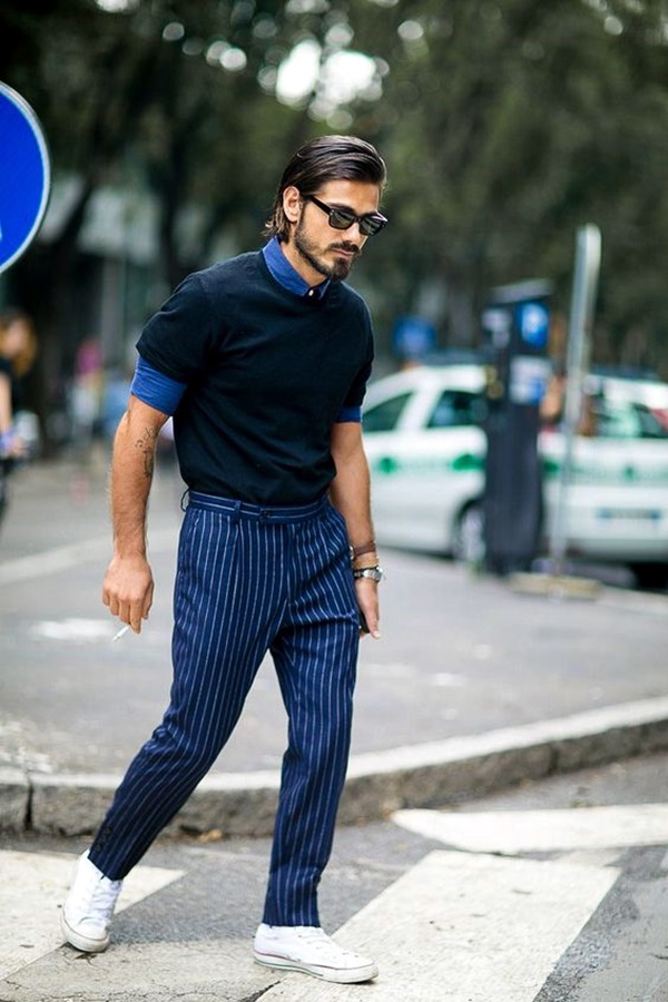 Mens Fashion Outfits To Pair Up With Sneakers (4)