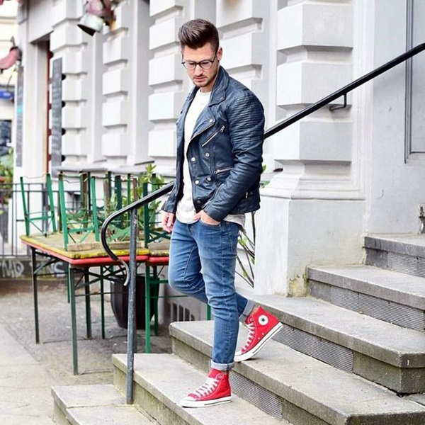 Mens Fashion Outfits To Pair Up With Sneakers (9)