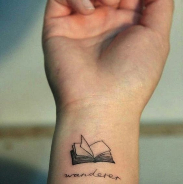 Small Book Tattoo: 80 Small Tattoo Designs With Powerful Meaning
