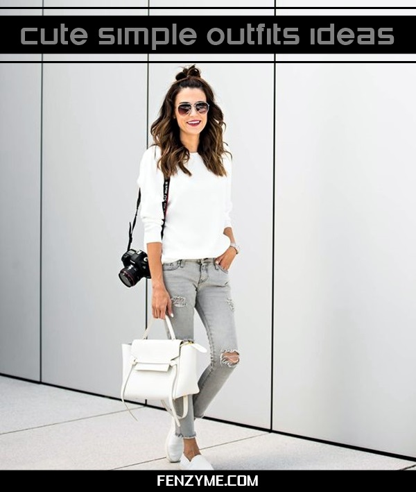 Cute Simple Outfits Ideas (1)