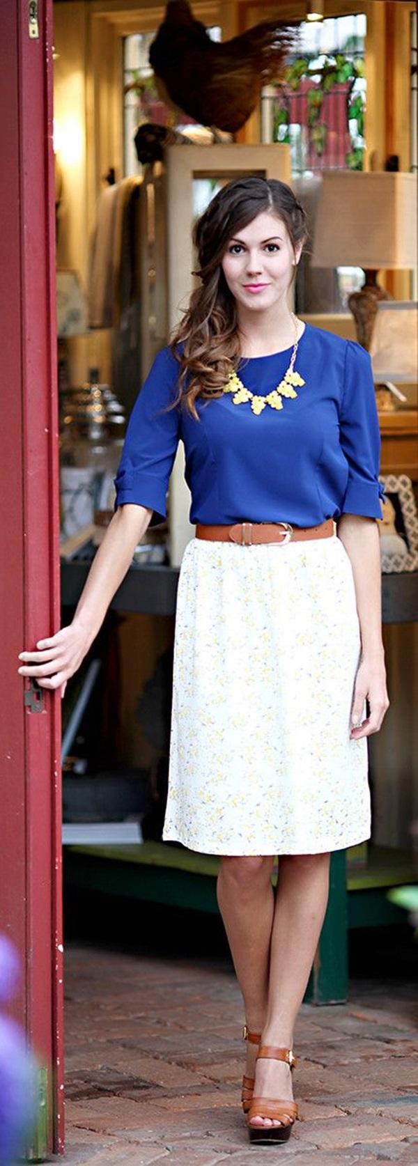 Cute Sunday Outfit Ideas (3)