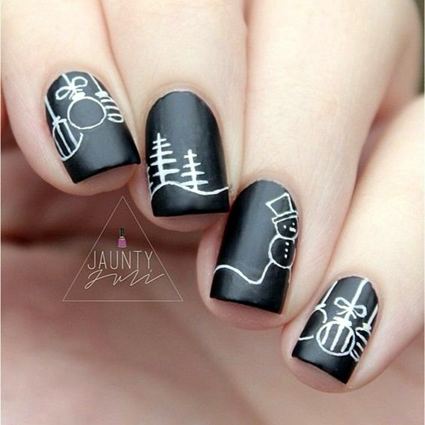 Holiday Nails Art Designs (18)