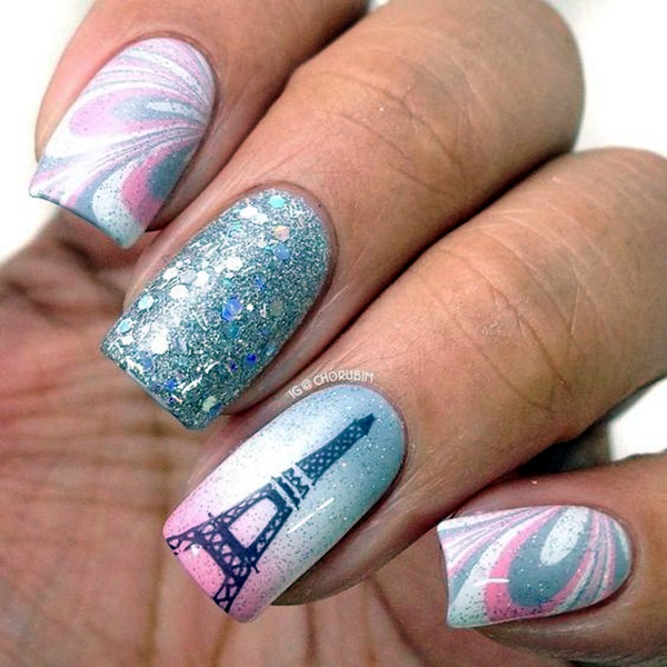 Holiday Nails Art Designs (24)