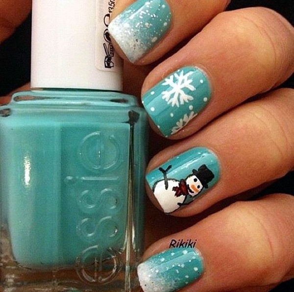 Holiday Nails Art Designs (3)