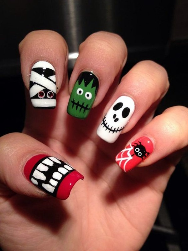 Holiday Nails Art Designs (5)