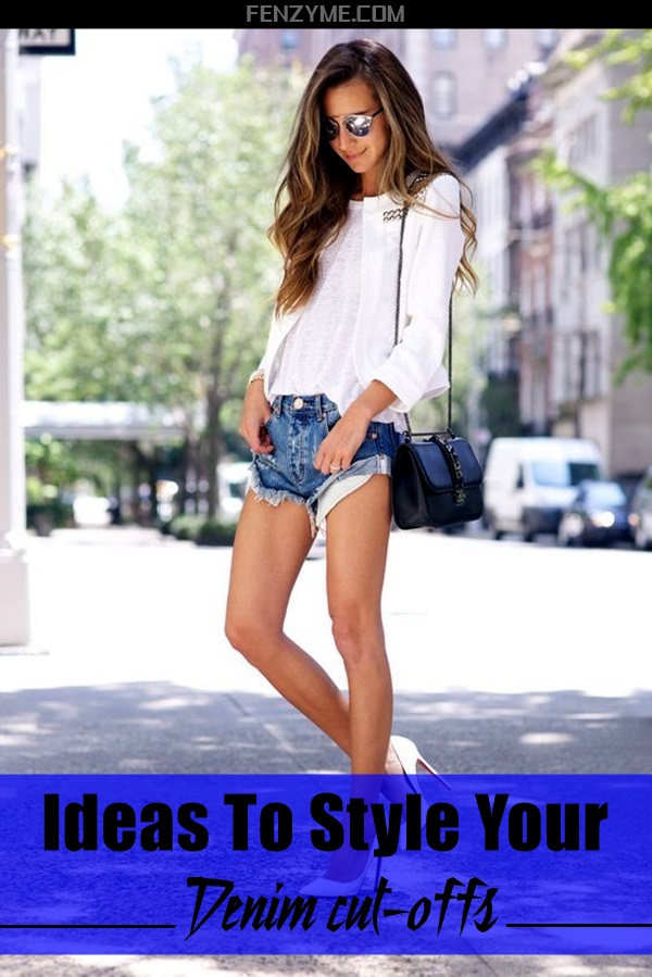 Ideas to style your denim cut-offs (1)