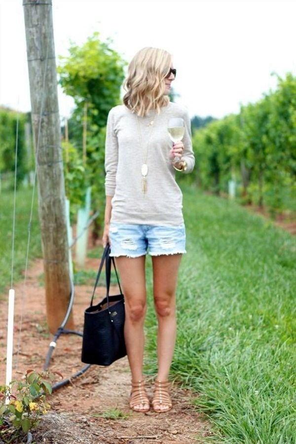 Ideas to style your denim cut-offs (10)