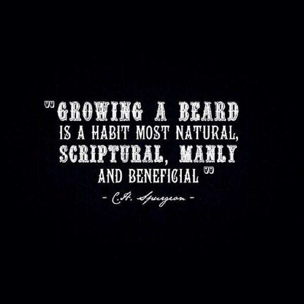 Manly Beard Quotes And Sayings (22)