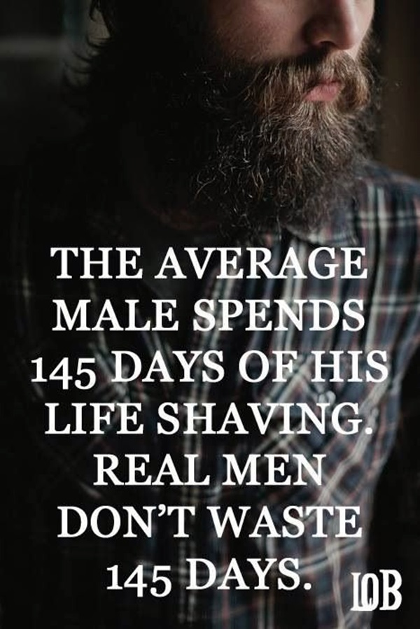 Manly Beard Quotes And Sayings (27)
