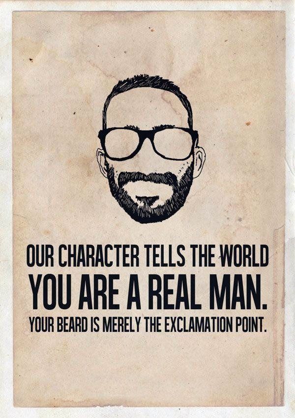 Manly Beard Quotes And Sayings (31)