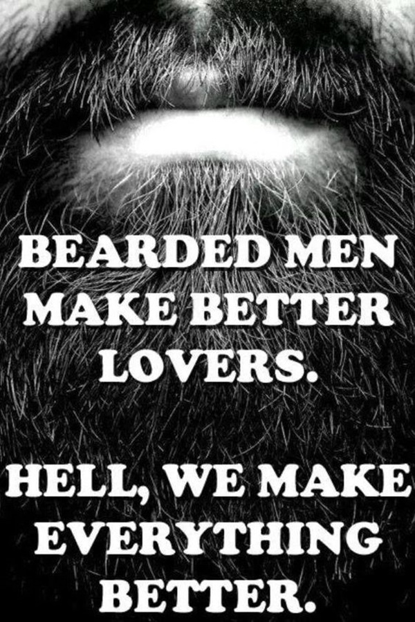 Manly Beard Quotes And Sayings (35)