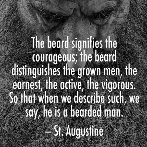 Manly Beard Quotes And Sayings (36)