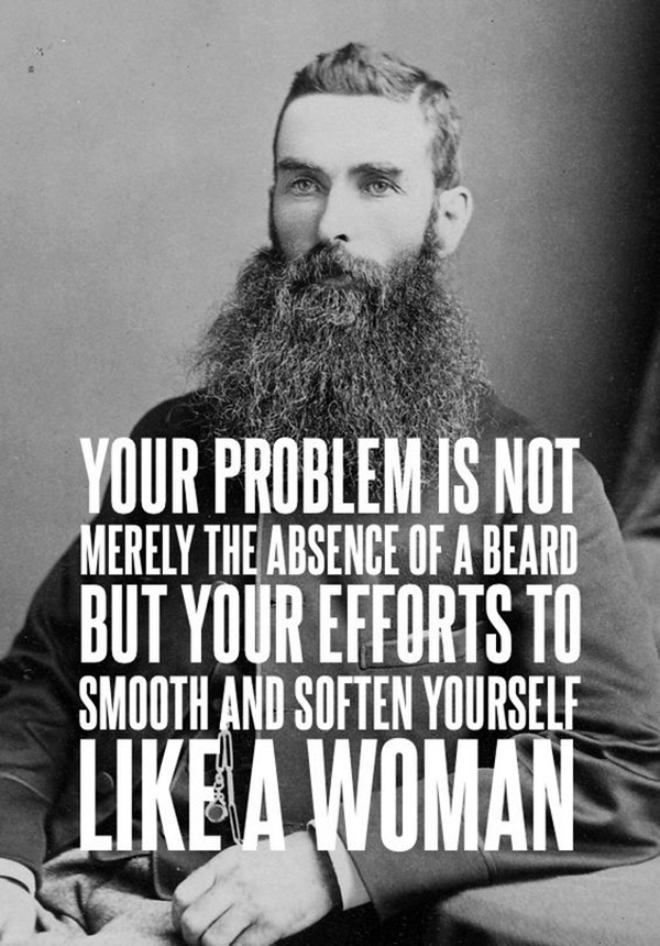 Manly Beard Quotes And Sayings (41)