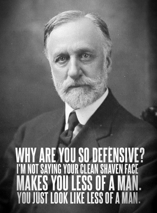 Manly Beard Quotes And Sayings (42)