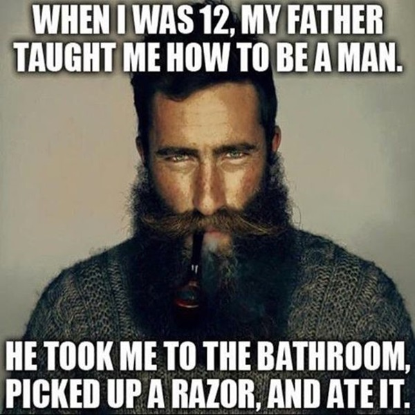 Manly Beard Quotes And Sayings (44)