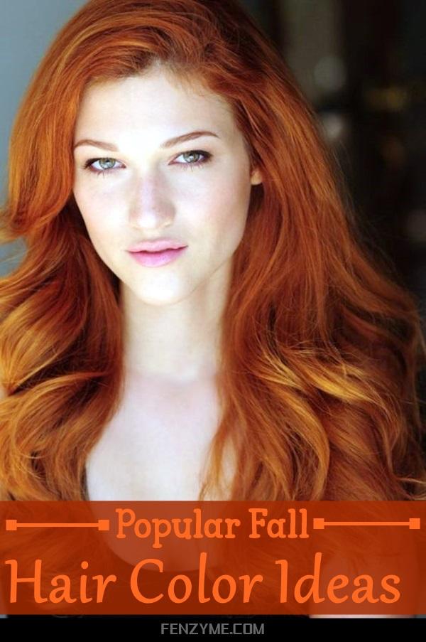 Popular Fall Hair Color Ideas (1)
