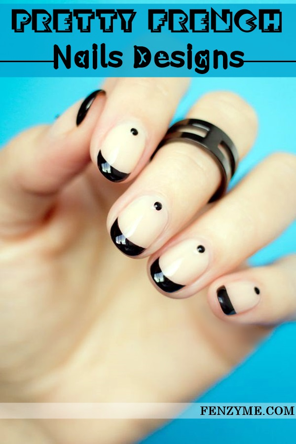 Pretty French Nails Designs (1)
