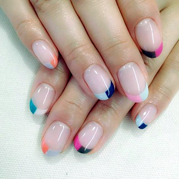 Pretty French Nails Designs (16)