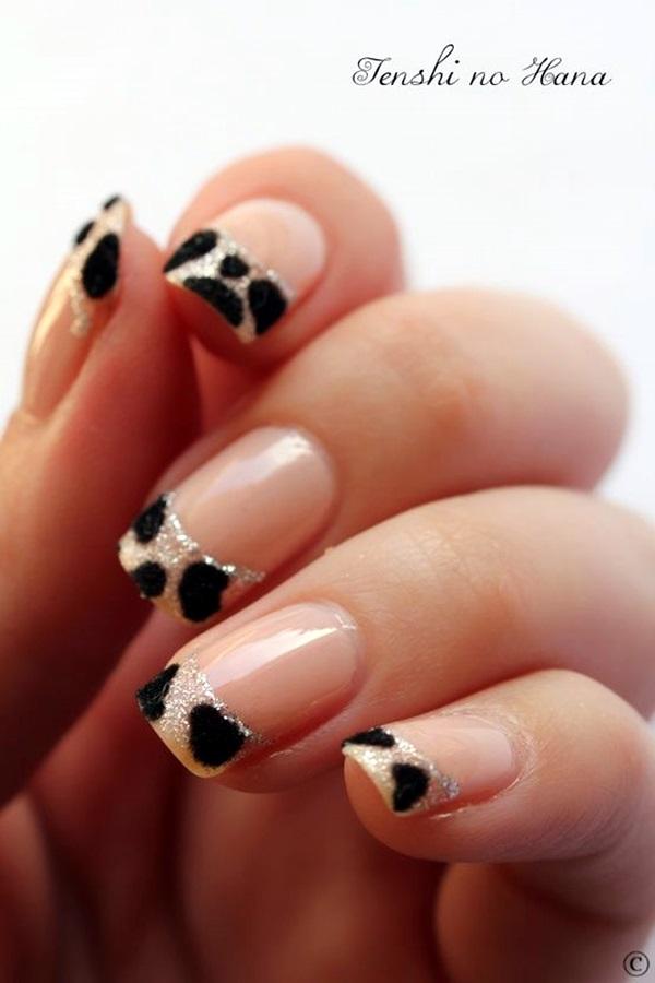 Pretty French Nails Designs (2)