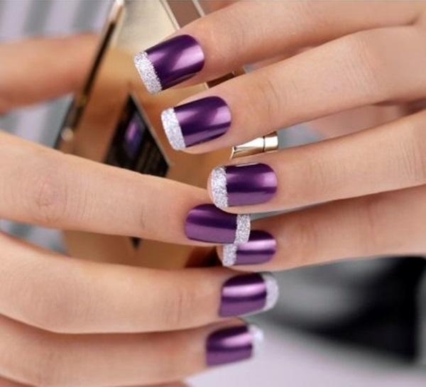 Pretty French Nails Designs (28)