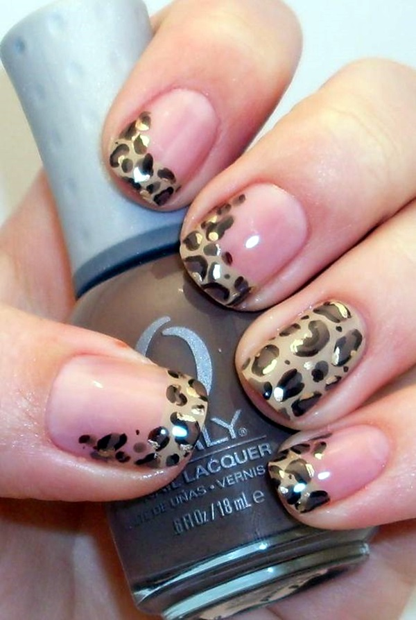 Pretty French Nails Designs (3)