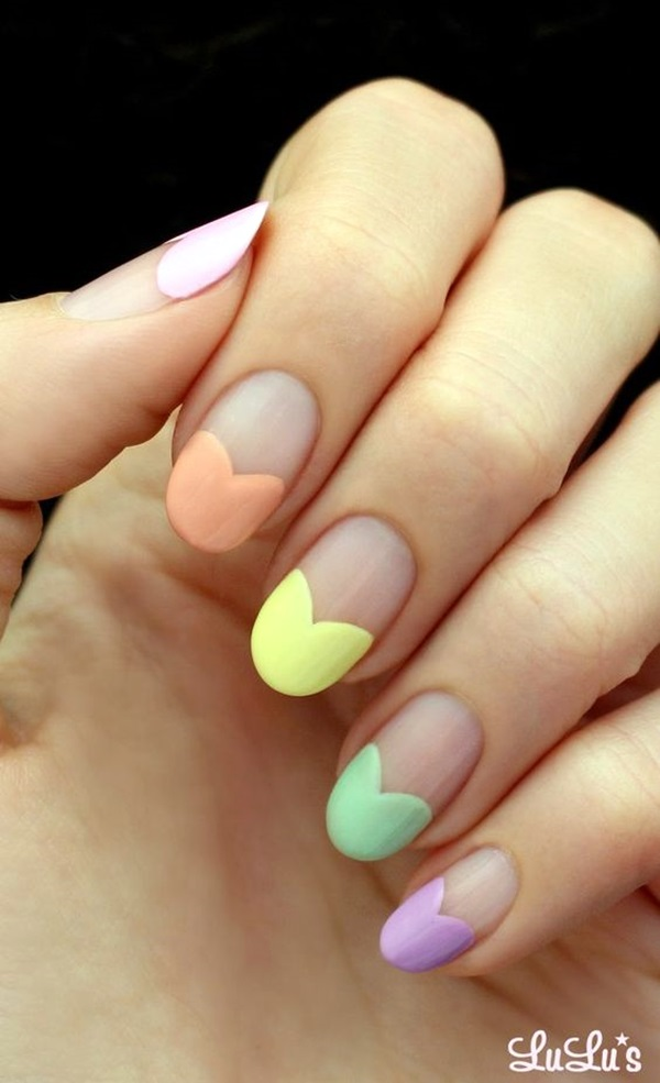 Pretty French Nails Designs (4)