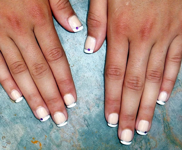 Pretty French Nails Designs (6)