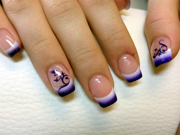 Pretty French Nails Designs (7)