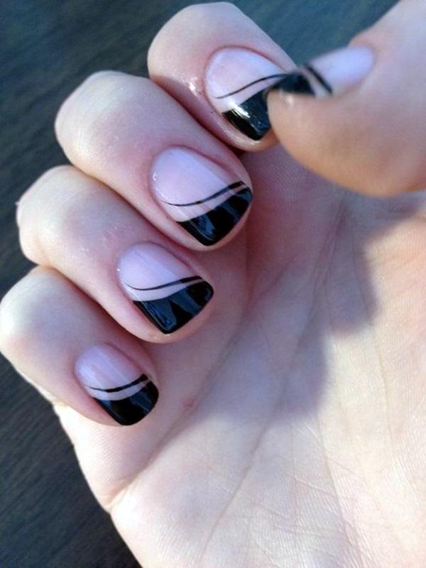 Pretty French Nails Designs (9)