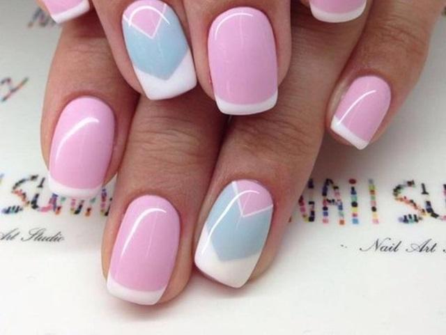 Pretty French Nails Designs