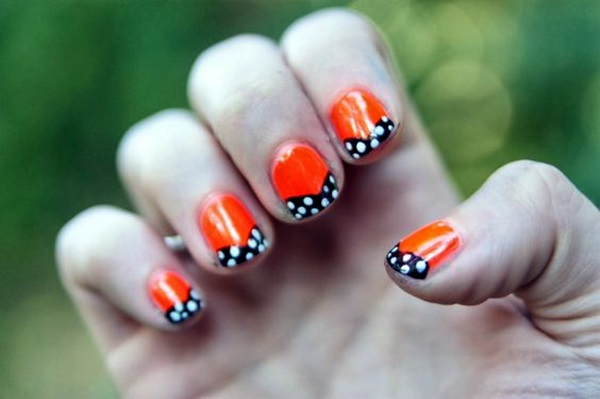 Pretty Thanksgiving Nails Art Designs (10)