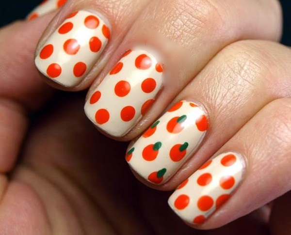 Pretty Thanksgiving Nails Art Designs (12)