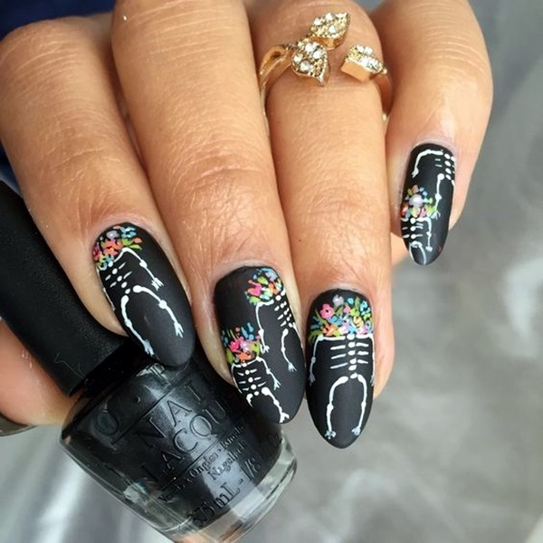 Pretty Thanksgiving Nails Art Designs (2)