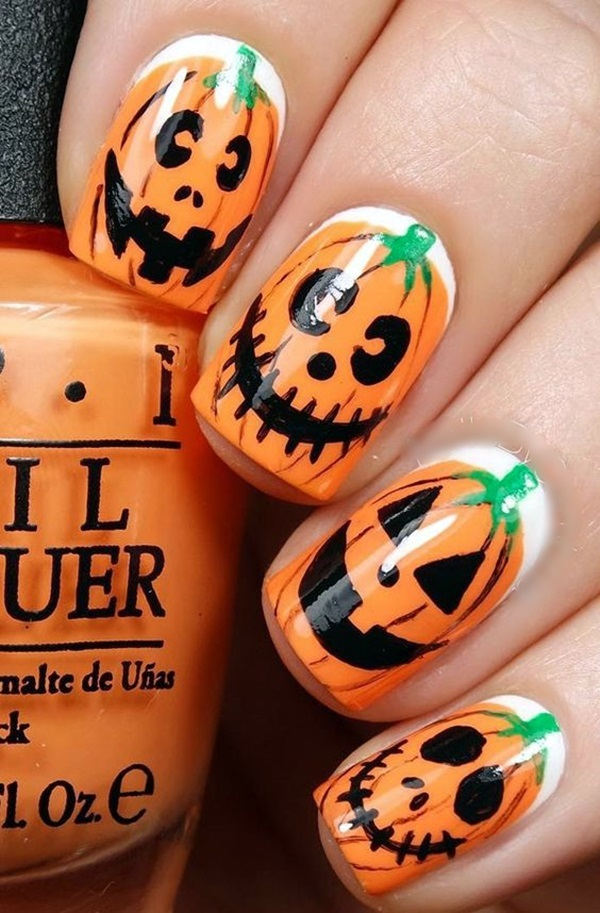 Pretty Thanksgiving Nails Art Designs (2)
