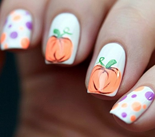 Pretty Thanksgiving Nails Art Designs (3)