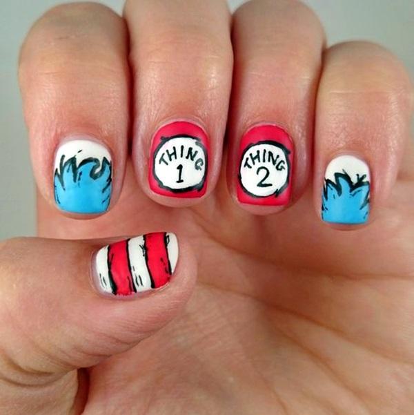 Pretty Thanksgiving Nails Art Designs (8)