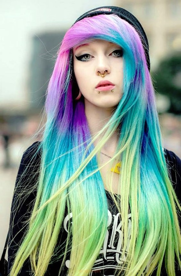 Cute Emo Hairstyles For Girls (1)