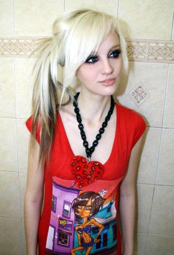 Cute Emo Hairstyles For Girls (11)