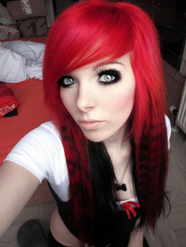 Cute Emo Hairstyles For Girls (16)