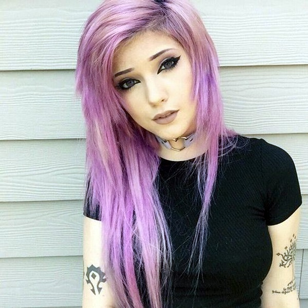 45 Supremely Cute Emo Hairstyles For Girls